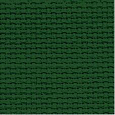Аида 14 Zweigart, тёмно-зелёная, отрез