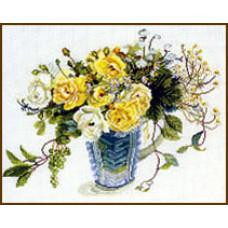Жёлтые розы Yellow Roses (609)