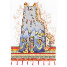 Набор для вышивания крестом Panna Сказка о рыбаке и рыбках (ВК-700)