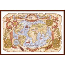 Старинная карта (МО-986)