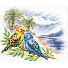 Волнистые попугайчики (ПТ-856)