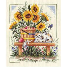 Набор для вышивания крестом Panna Новый урожай (ДЕ-826)