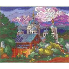 Набор для вышивания крестом Panna Кучевые облака (ПС-756)