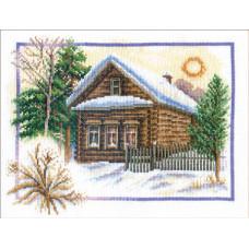Зима в деревне (ПС-333)*