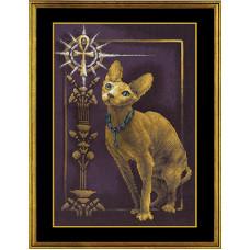 Набор для вышивания крестом Panna Египетская кошка (К-897)