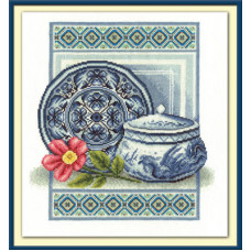 Набор для вышивания крестом Panna Столовый сервиз (Н-1006)