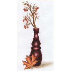 Набор для вышивания крестом Panna Красные ягоды (В-495)