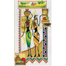 Африка.Женщины и керамика (НМ-740)