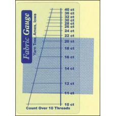 Линейка для определения каунта ткани (3679)