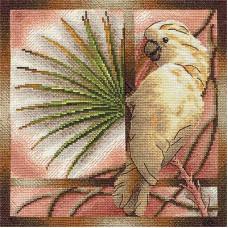 Белый попугай (ПТ-693)