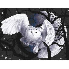 Набор для вышивания крестом Panna Белая сова (Ж-359)