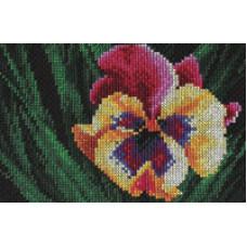 Набор для вышивания крестом Panna Яркий цветок (Ц-410)