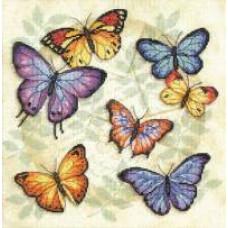 Изобилие бабочек (35145)