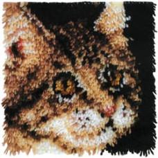 Набор для ковроткачества Caron Полосатый котенок (426190C)