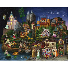 Паззл Сказки Fairy Tales, 1500 эл. (CN67543)