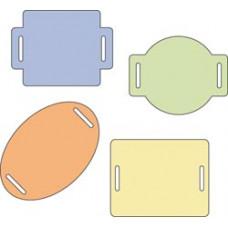 """Набор форм для вырезания Cuttlebug 2""""X2"""" Die Set, Sliders (37-1215)"""
