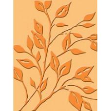 Папка для тиснения Cuttlebug A2 Embossing Folder, Leafy Branch (37-1168)