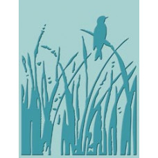 Папка для тиснения Cuttlebug A2 Embossing Folder, Bird Call (37-1169)