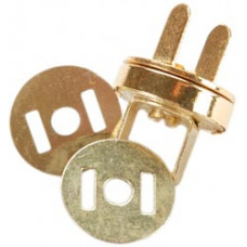 Магнитная застёжка для сумки, золото (MS14MM-G)