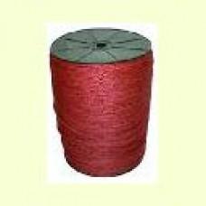 Бумажный шнур крученный, бургунди (40000-40106)