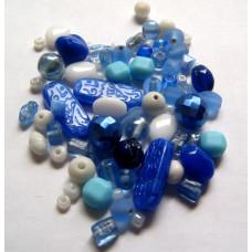Набор бусин и бисера Dress It Up Beads, Blue Skies, 28 гр. (2503)