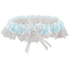 Подвязка свадебная, кружевная (P150-110-05)
