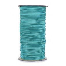Нитка-резинка для бисероплетения, голубая