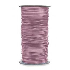Нитка-резинка для бисероплетения, светло-розовая