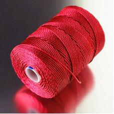 Капроновая нить, красная, 0,7мм
