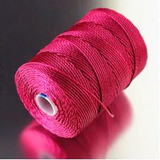 Капроновая нить, розовая, 0,7мм