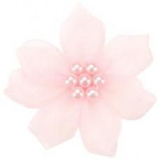 Фиалки из ленты, розовые (13259-115)