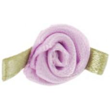 Розочки из ленты, светло-лиловые (14019-430)
