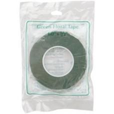 Флористическая лента, зеленая (S9663)