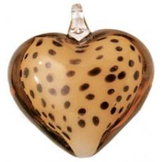 Подвеска-кулон Сердце гепарда (AGPEND - 72867)