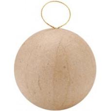 Заготовка из папье-маше, Новогодний шар (2833-55-1001008)