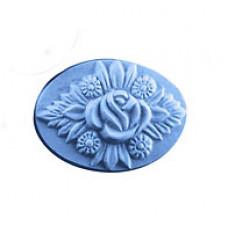 Форма для мыла Букет с розой (BOU1011)*