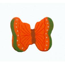 Объёмное украшение Оранжевая бабочка, мини