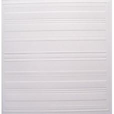 Заготовка для открытки с конвертом, Белые полоски (14 х 14) Embossed cards - CM-025-00007 (62)