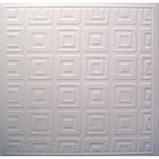 Заготовка для открытки с конвертом, Белые квадраты (14 х 14) Embossed cards - CM-025-00007 (66)