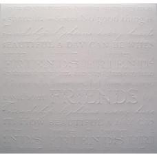 Заготовка для открытки с конвертом, Друзьям (14 х 14) Embossed cards - CM-025-00007 (68)