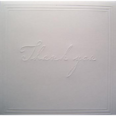 Заготовка для открытки с конвертом, Спасибо (14 х 14) Embossed cards - CM-025-00007 (69)