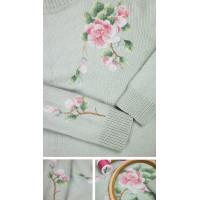 Набор для вышивания крестиком Золотое руно Веточка яблони (ВН-001)