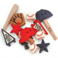Набор пуговиц-украшений Бейсбол (419)