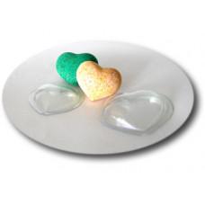 Форма для изготовления «бомбочек» для ванной, Сердце, маленькая