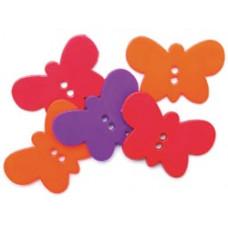 Набор пуговиц-украшений Бабочки (5500A 1173)