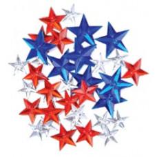 Набор пуговиц-украшений Драгоценные звёзды (5500A 1210)
