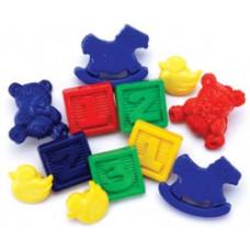 Набор пуговиц-украшений Детские игрушки (5500A 4)