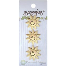 Набор пуговиц-украшений Солнце (BZ 129)