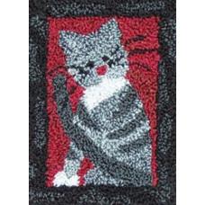 Набор для ковроткачества Rachels Of Greenfield Маленький котик (PNK9505)