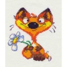 Набор для вышивания крестиком Чудесная игла Лисёнок (26-03)